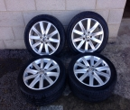 "Genuine set (4) 17"" Volkswagen Golf &#39PORTO&#39  New Model alloys"