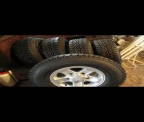 Landrover Defender Boost Alloy wheels and Continental tyres X5