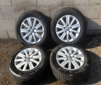 "Genuine Set (4) 15"" Volkswagen Golf  'match'  Alloy Wheels"